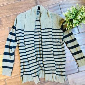 [a.n.a] Striped Cardigan Sweater